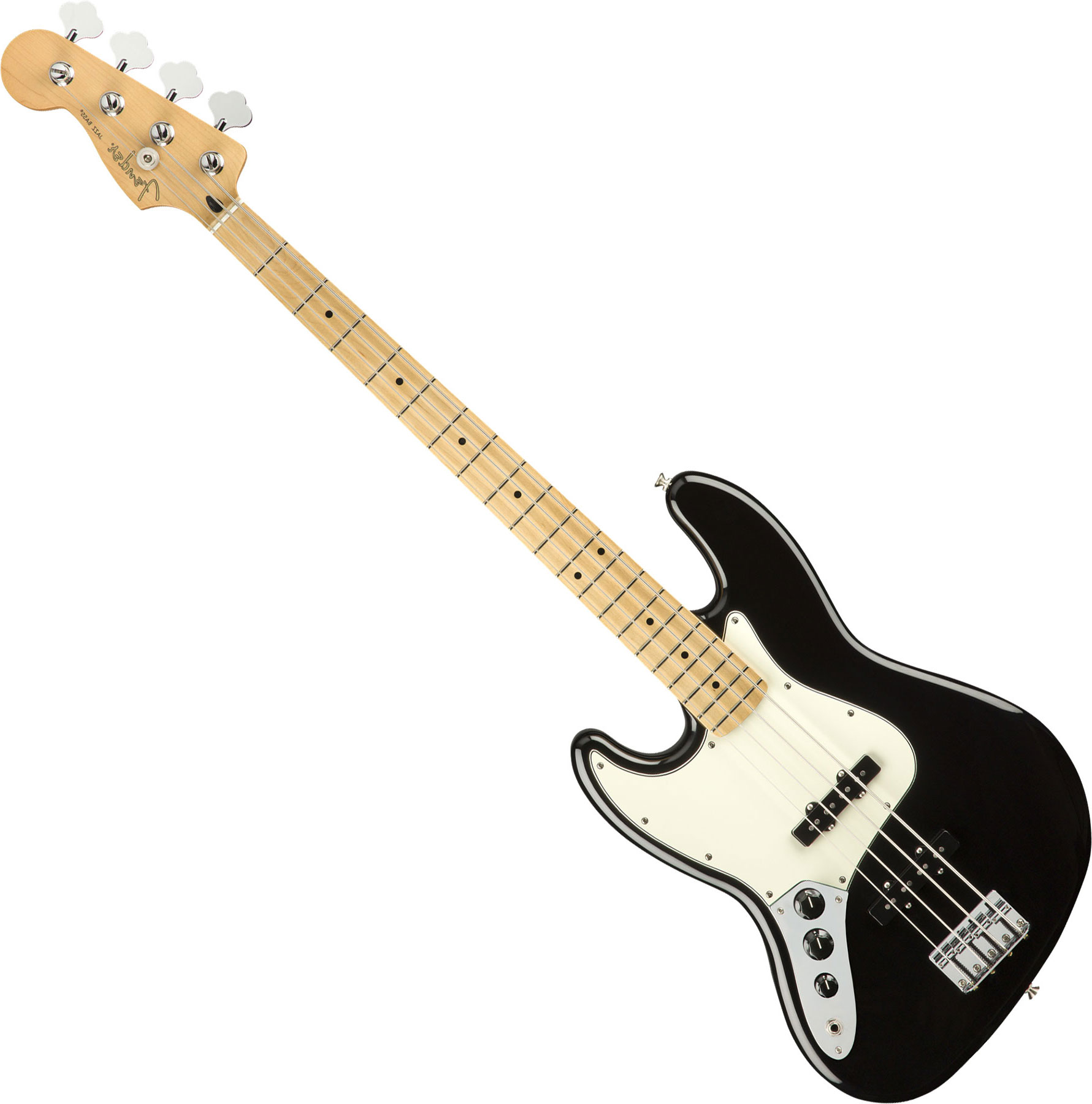 Player Jazz Bass Left Hand (MEX, MN) black