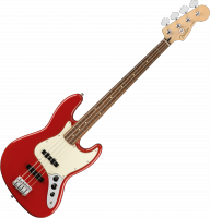 Player Jazz Bass (MEX, PF) - Sonic red