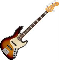 Basse électrique solid body Fender American Ultra Jazz Bass V (USA, RW) - Ultraburst