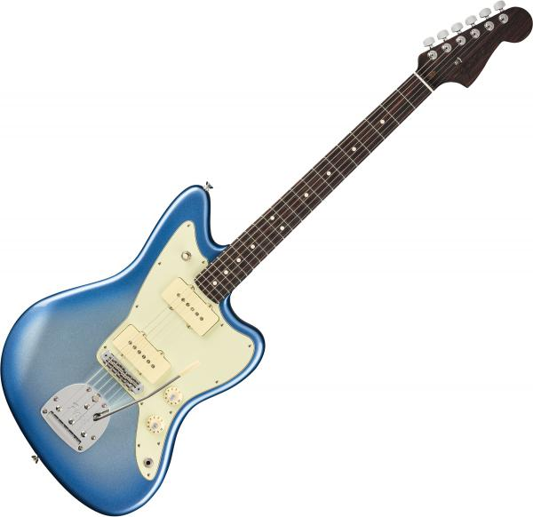 Guitare électrique solid body Fender American Professional Jazzmaster Rosewood Neck Ltd (USA, RW) - Sky burst metallic