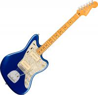 Guitare électrique solid body Fender American Ultra Jazzmaster (USA, MN) - Cobra blue