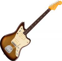 Guitare électrique solid body Fender American Ultra Jazzmaster (USA, RW) - Mocha burst