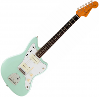 Guitare électrique solid body Fender Jazzmaster Classic Series '60s Lacquer (MEX, RW) - Surf green