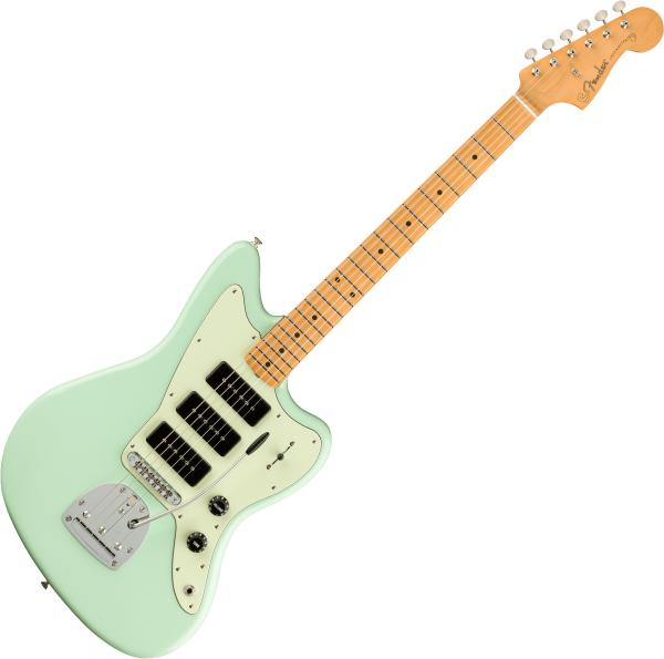 Guitare électrique solid body Fender Noventa Jazzmaster (MEX, MN) - Surf green
