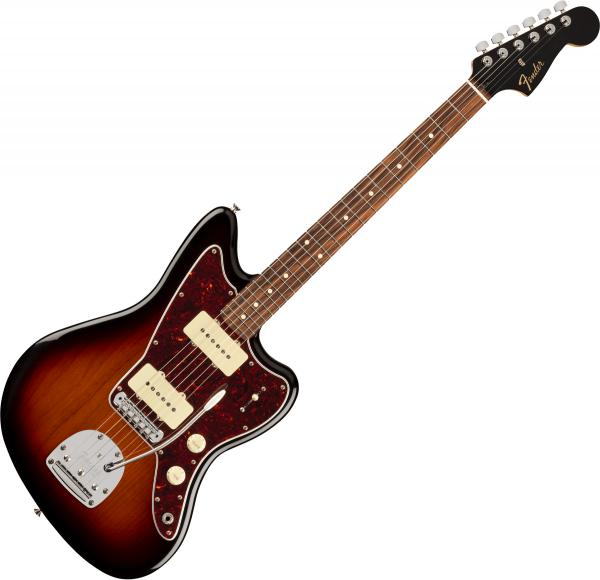 Guitare électrique solid body Fender Player Jazzmaster Ltd (MEX, PF) - 3-color sunburst