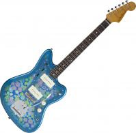 Guitare électrique solid body Fender Traditional '60s Jazzmaster (Japan, RW) - Blue flower