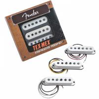 Micro guitare electrique Fender JEU STRAT TEX MEX WHITE 3 PIECES