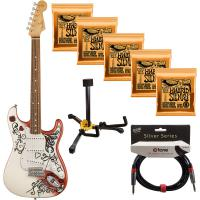 Jimi Hendrix Monterey Stratocaster Pack (MEX) - Printed artwork