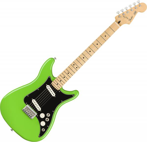 Guitare électrique solid body Fender Player Lead II (MEX, MN) - Neon green