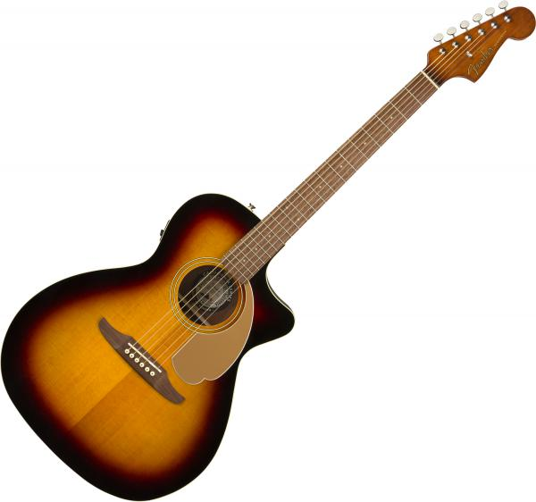 Guitare folk & electro Fender Newporter Player (WAL) - Sunburst