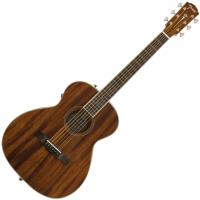 Guitare folk Fender Paramount PM-TE Standard Travel All Mahogany +case - Natural