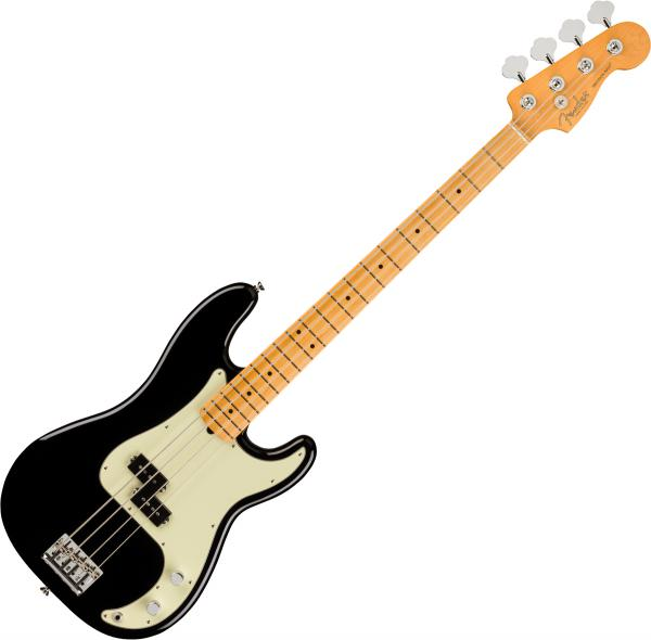 Basse électrique solid body Fender American Professional II Precision Bass (USA, MN) - black