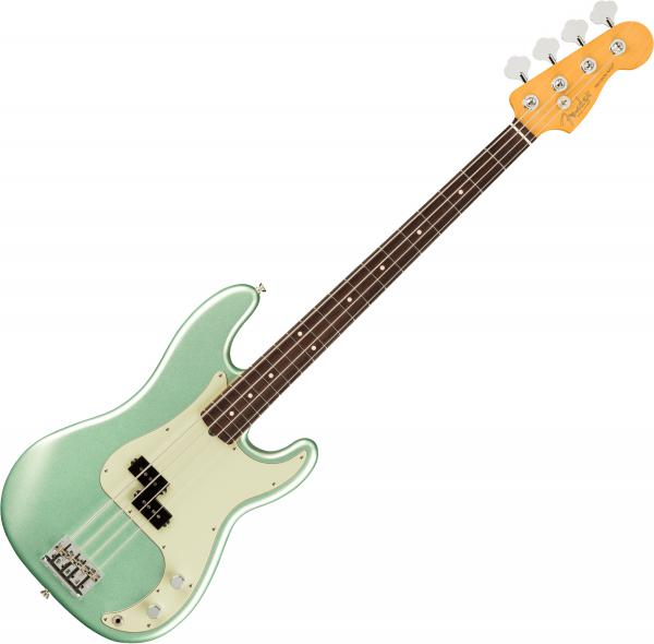 Basse électrique solid body Fender American Professional II Precision Bass (USA, RW) - Mystic Surf Green