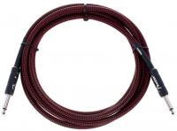 Câble Fender Professional Instrument Cable, Straight/Straight, 10ft - Red Tweed