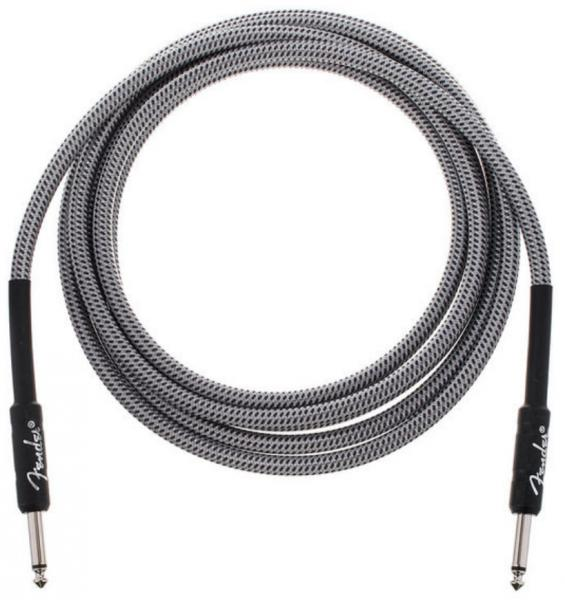 Câble Fender Professional Instrument Cable, Straight/Straight, 10ft - White Tweed