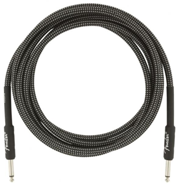 Câble Fender Professional Instrument Cable, Straight/Straight, 10ft - Gray Tweed