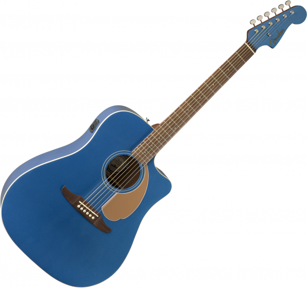 Guitare folk & electro Fender Redondo Player - Belmont blue