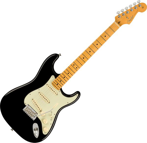 Guitare électrique solid body Fender American Professional II Stratocaster (USA, MN) - Black