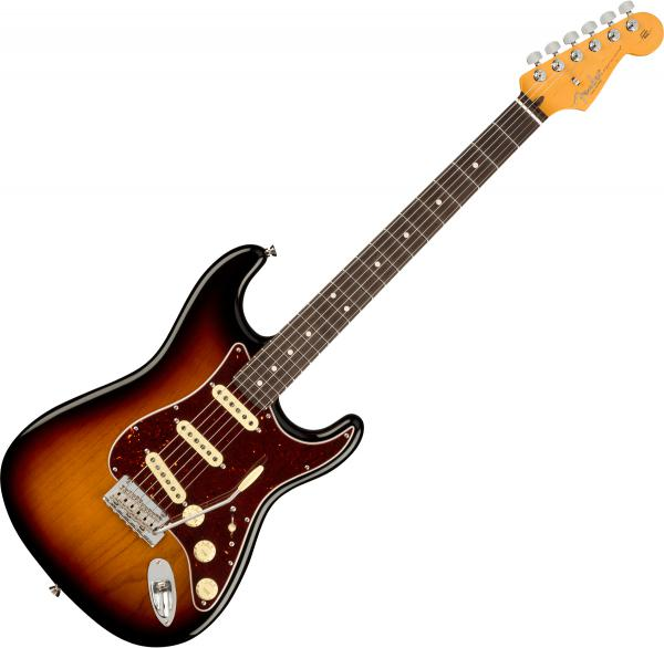 Guitare électrique solid body Fender American Professional II Stratocaster (USA, RW) - 3-color sunburst
