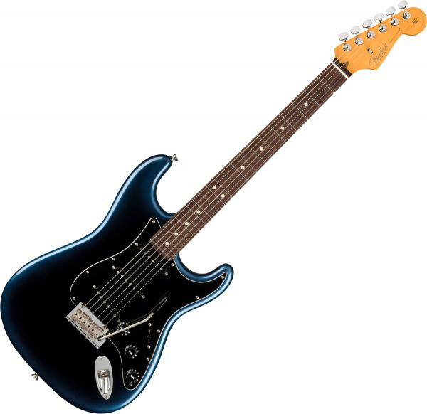 Guitare électrique solid body Fender American Professional II Stratocaster (USA, RW) - Dark night