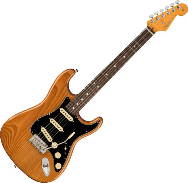 Guitare électrique solid body Fender American Professional II Stratocaster (USA, RW) - Roasted pine