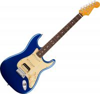 Guitare électrique solid body Fender American Ultra Stratocaster HSS (USA, RW) - Cobra blue