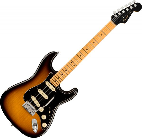 Guitare électrique solid body Fender Ultra Luxe Stratocaster (USA, MN) - 2-color sunburst
