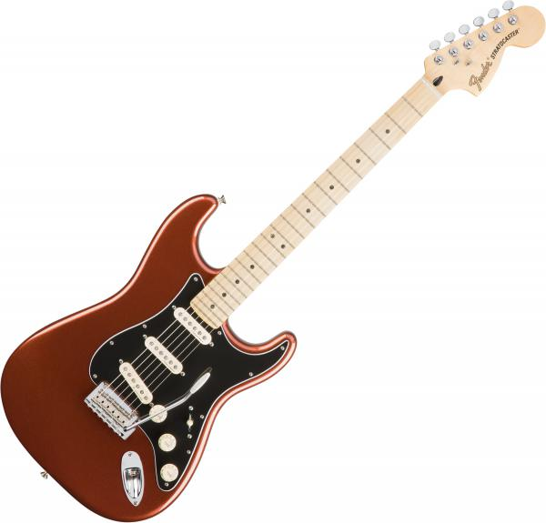Guitare électrique solid body Fender Deluxe Roadhouse Strat (MEX, MN) - Classic copper