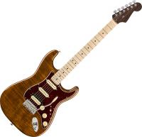 Guitare électrique solid body Fender Rarities Flame Maple Top Stratocaster Ltd (USA, MN) - Golden brown with mhc