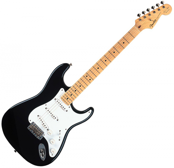 Guitare électrique solid body Fender Stratocaster Eric Clapton (USA, MN) - Black