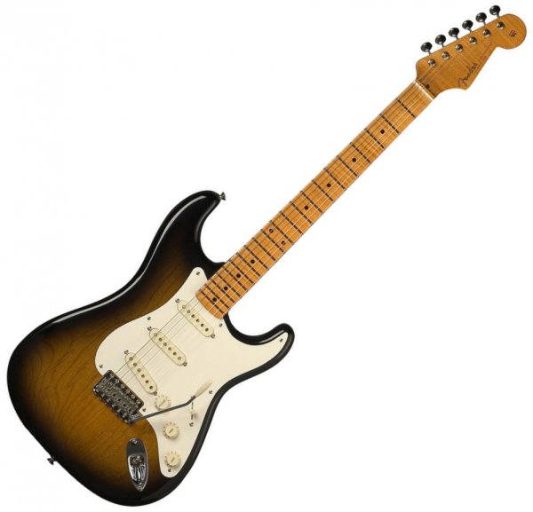 Guitare électrique solid body Fender Eric Johnson Stratocaster (USA, MN) - 2-color sunburst