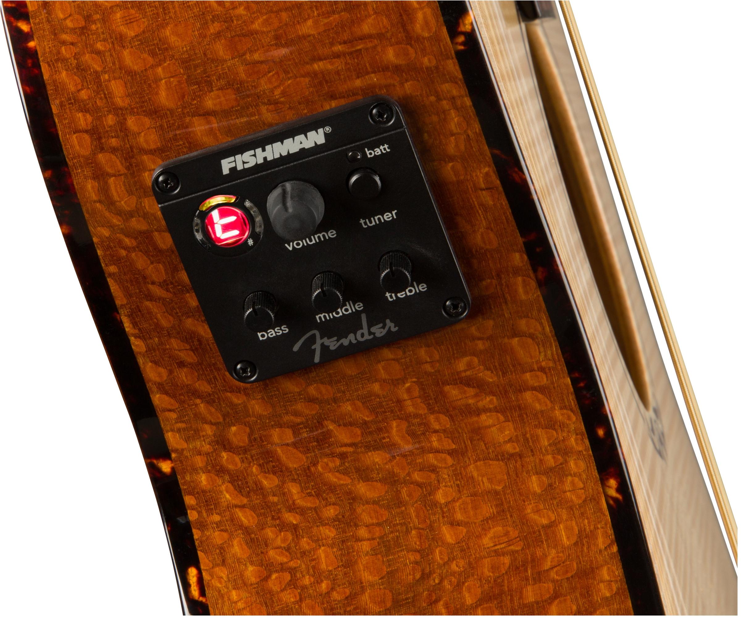 Fender T-Bucket 450-E FLM MPL NAT V3
