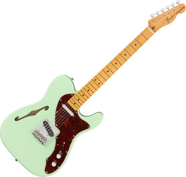 Guitare électrique solid body Fender American Original '60s Telecaster Thinline (USA, MN) - Surf green