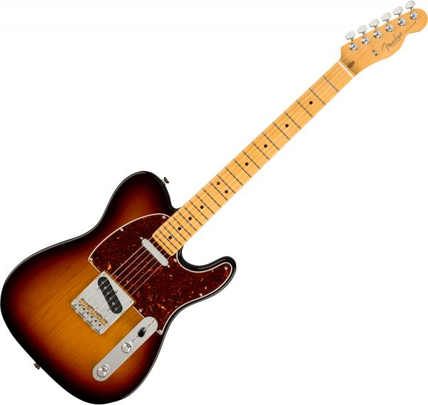 Guitare électrique solid body Fender American Professional II Telecaster (USA, MN) - 3-color sunburst