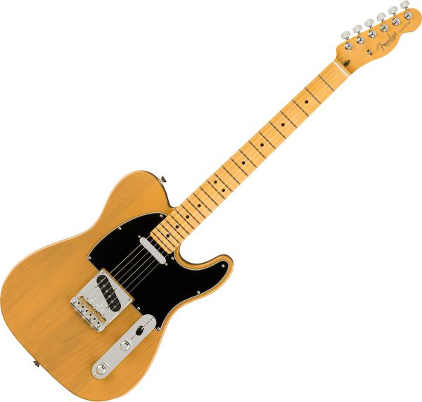Guitare électrique solid body Fender American Professional II Telecaster (USA, MN) - Butterscotch blonde