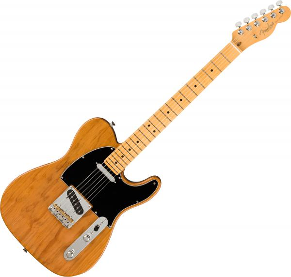 Guitare électrique solid body Fender American Professional II Telecaster (USA, MN) - Roasted pine