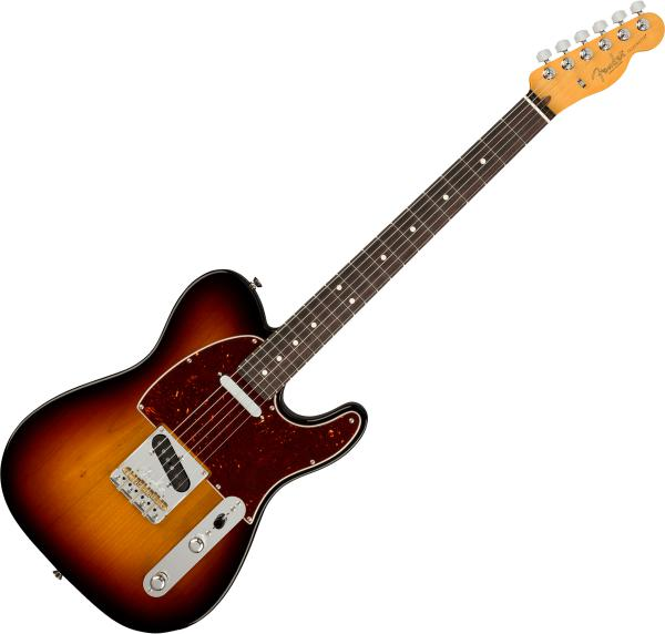 Guitare électrique solid body Fender American Professional II Telecaster (USA, RW) - 3-color sunburst
