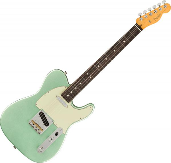 Guitare électrique solid body Fender American Professional II Telecaster (USA, RW) - Mystic surf green