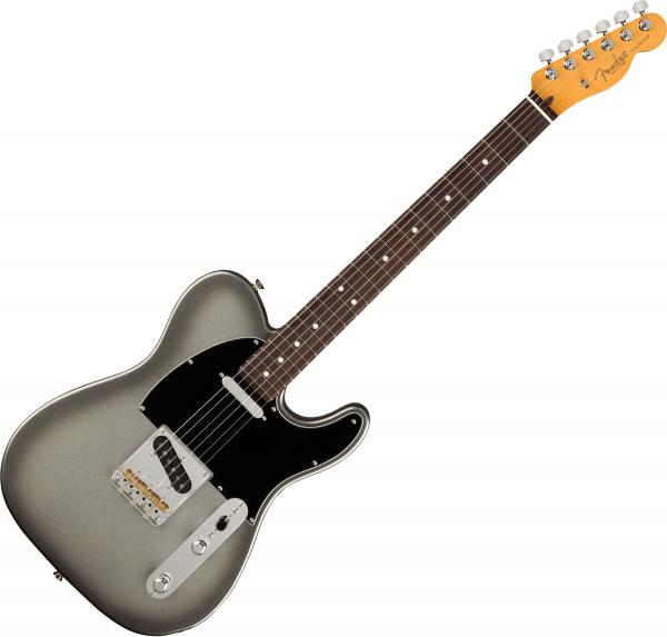 Guitare électrique solid body Fender American Professional II Telecaster (USA, RW) - Mercury