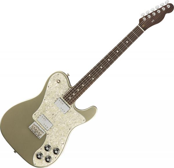 Guitare électrique solid body Fender American Professional Telecaster Deluxe Rosewood Neck Ltd (USA, RW) - Champagne
