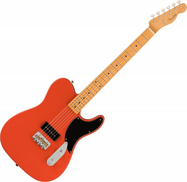 Guitare électrique solid body Fender Noventa Telecaster (MEX, MN) - Fiesta red