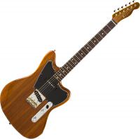Mahogany Offset Telecaster (Japan, RW) - natural