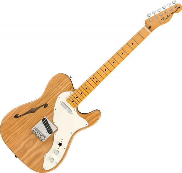 Guitare électrique 1/2 caisse Fender American Original '60s Telecaster Thinline (USA, MN) - Aged natural