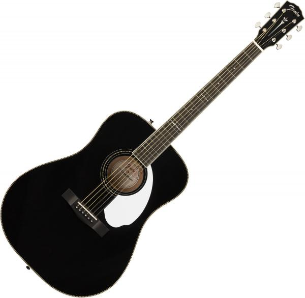 Guitare folk & electro Fender Tim Armstrong 10th Anniversary Hellcat - Black