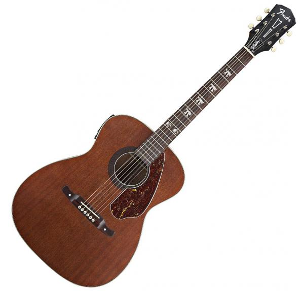 Guitare folk & electro Fender Tim Armstrong Hellcat (WAL) - Natural