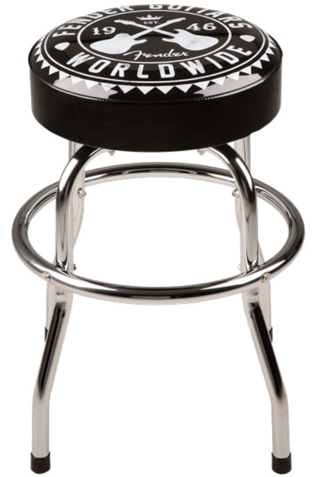 Fender Worldwide Barstool 24 Inch Pourlesmusiciens Com