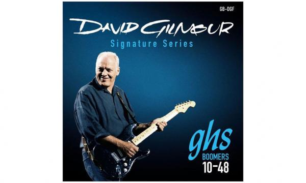 Cordes guitare électrique Ghs Electric GB-DGF David Gilmour 10-48 - Jeu de 6 cordes