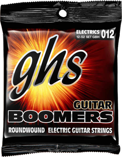 Cordes guitare électrique Ghs Electric (6) GBTNT Boomers Thin-Thick 10-52 - Jeu de 6 cordes