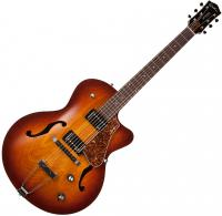 Guitare jazz traditionnelle Godin 5th Avenue CW HB +case - Cognac burst