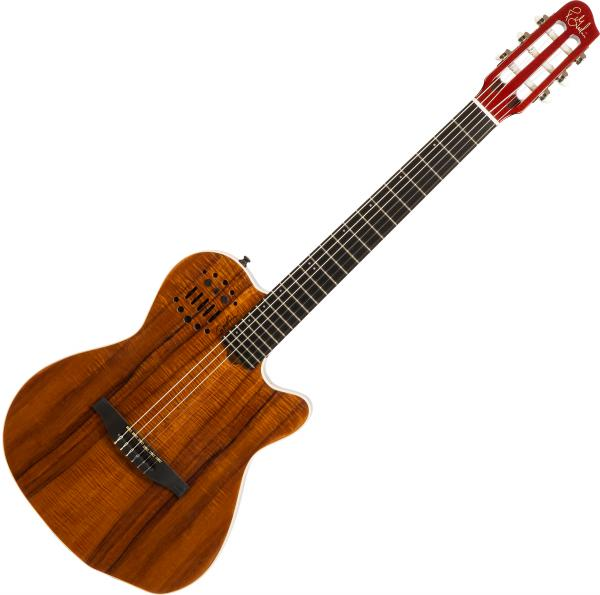 Guitare classique format 4/4 Godin Multiac Nylon ACS Koa Extreme +Bag - Natural hg